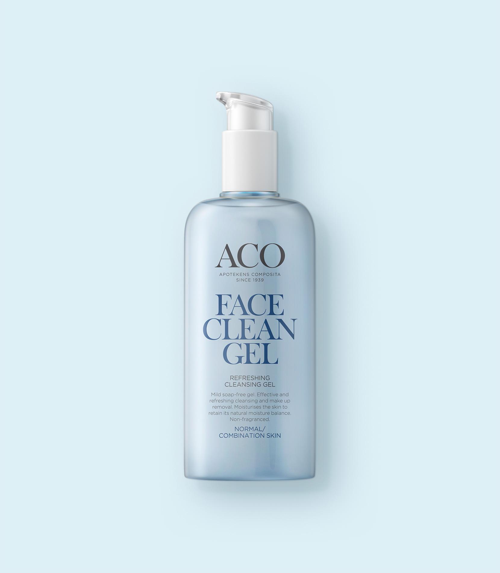 aco face cleansing gel