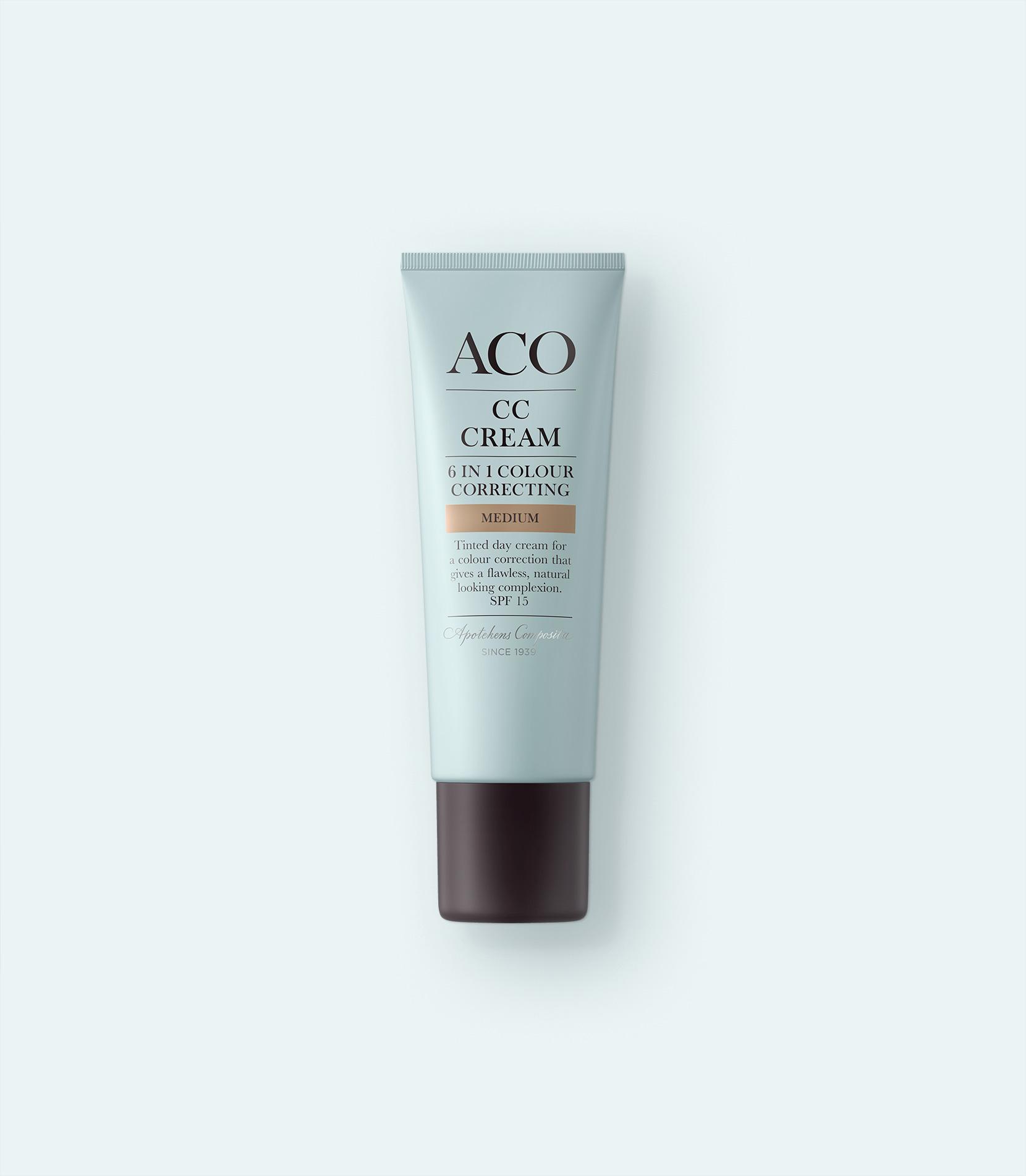 aco cc cream medium