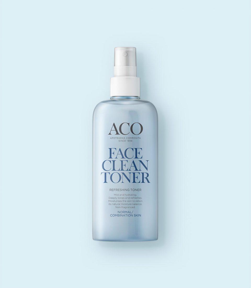 aco moisturising face gel